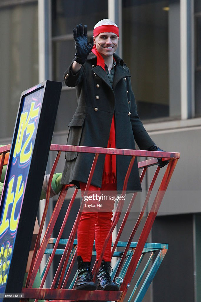 Tyler Glenn of Neon Trees attends the 86th Annual Macy's Thanksgiving Day Parade on November 22, 2012 in New York City.