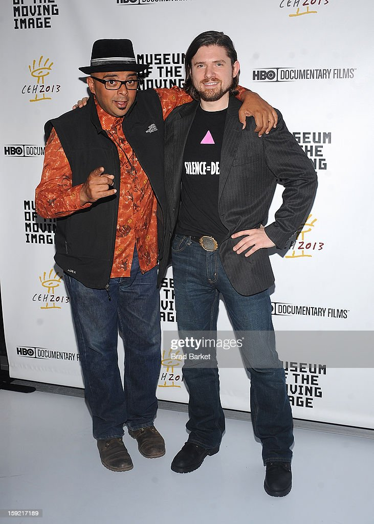 Tyler H. Walk and T. Woody Richman attend the 6th Annual Cinema Eye Honors For Nonfiction Filmmaking at Museum of the Moving Image on January 9, 2013 in New York City.
