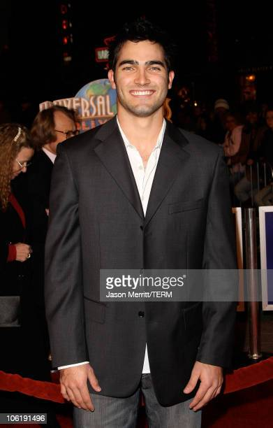 Tyler Hoechlin arrives to the premiere of Universal Pictures' 'Charlie Wilson's War' at City Walk Cinemas on December 10 2007 in Universal City...