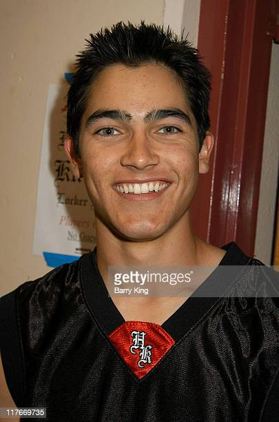 Tyler Hoechlin during Hollywood Knights Basketball Game Van Nuys at Van Nuys High School in Van Nuys California United States