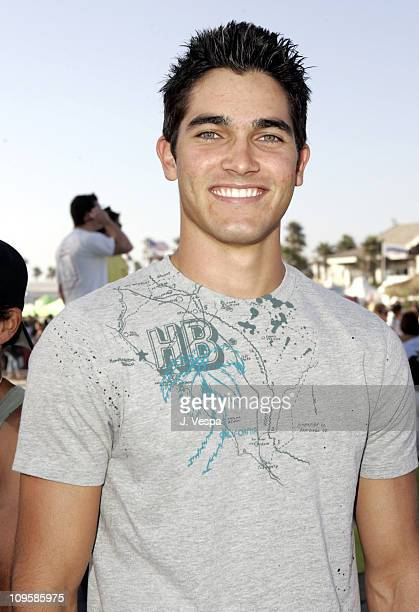 Tyler Hoechlin during Teen Vogue Fashion Live Inside in Huntington Beach California United States