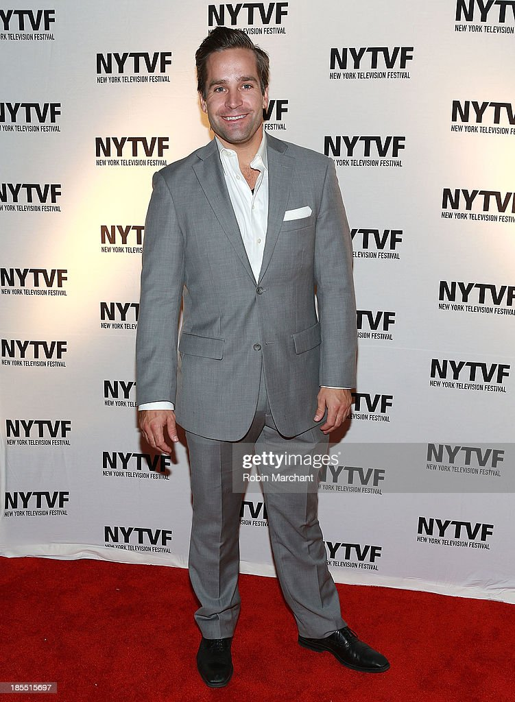 Tyler Hollinger attends 'In Between Men' Series Screening - 9th Annual New York Television Festival at Tribeca Cinemas on October 21, 2013 in New York City.