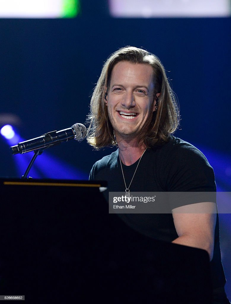 Tyler Hubbard of Florida Georgia Line performs onstage during the 2016 iHeartCountry Festival at The Frank Erwin Center on April 30, 2016 in Austin, Texas.