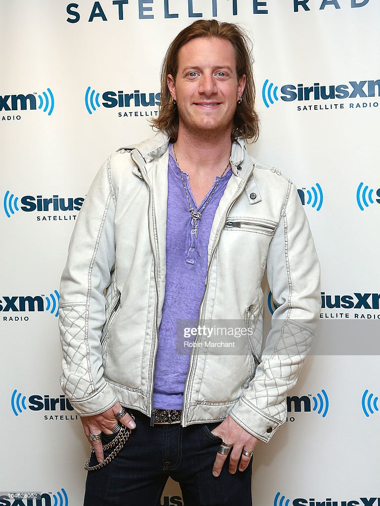 Tyler Hubbard of Florida Georgia Line visits at SiriusXM Studios on March 25, 2013 in New York City.