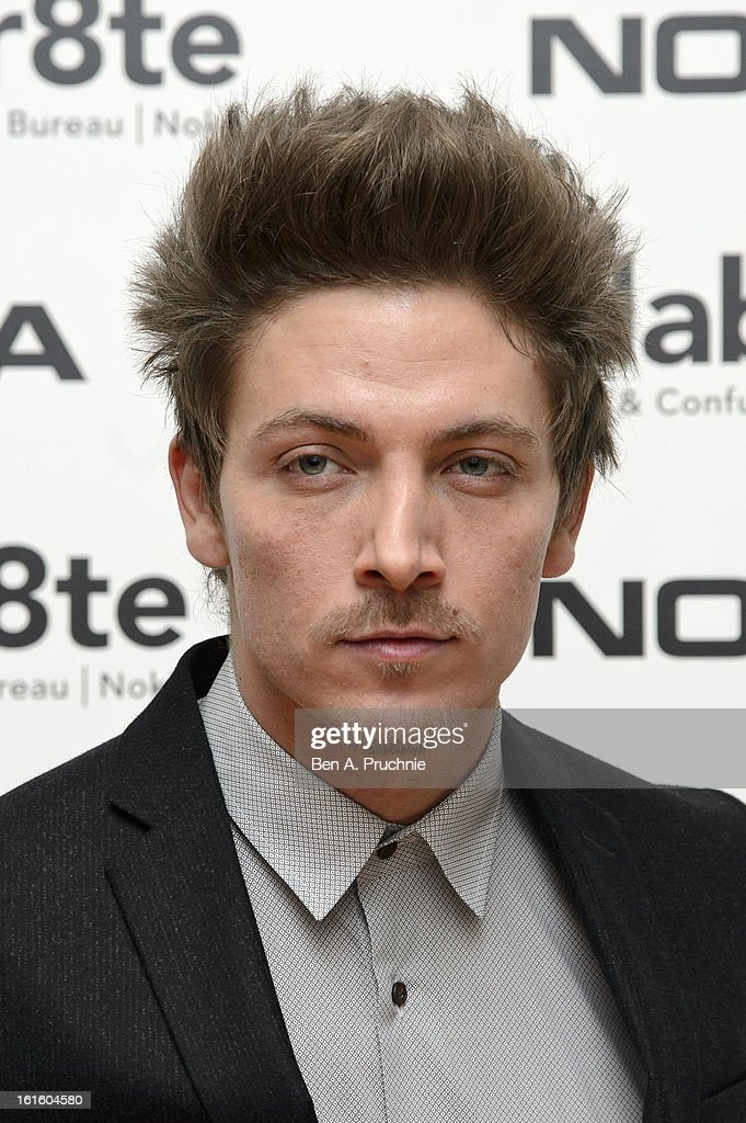 Tyler James attends the premiere of Rankin's Collabor8te connected by NOKIA at Regent Street Cinema on February 12, 2013 in London, England.