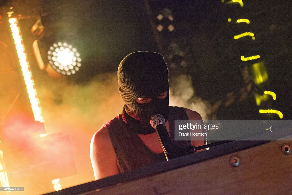 Tyler Joseph Of Twenty One Pilots Performs Live During A Concert At The  Postbahnhof On February Part 24