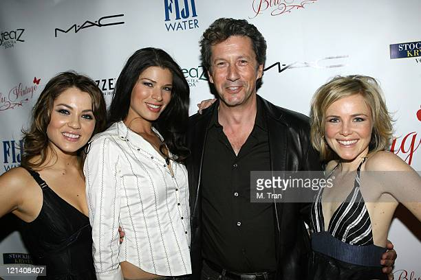 Tyler Kain Adrienne Janic Charles Shaughnessy and Rosalie Ward