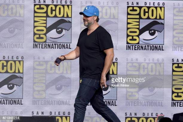 Tyler Labine at Dirk Gently's Holistic Detective Agency BBC America Official Panel during ComicCon International 2017 at San Diego Convention Center...