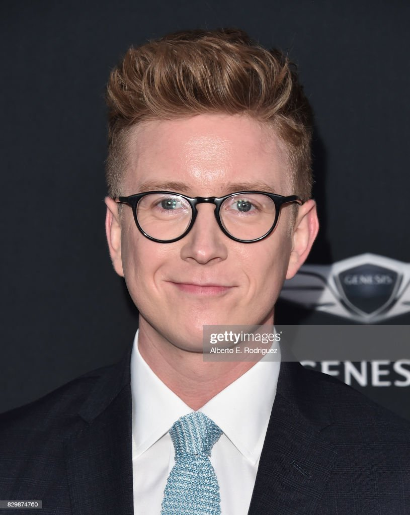 Tyler Oakley attends OUT Magazine's Inaugural Power 50 Gala & Awards Presentation at Goya Studios on August 10, 2017 in Los Angeles, California.