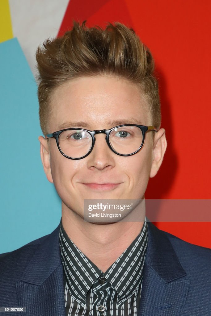 Tyler Oakley attends the 7th Annual 2017 Streamy Awards at The Beverly Hilton Hotel on September 26, 2017 in Beverly Hills, California.