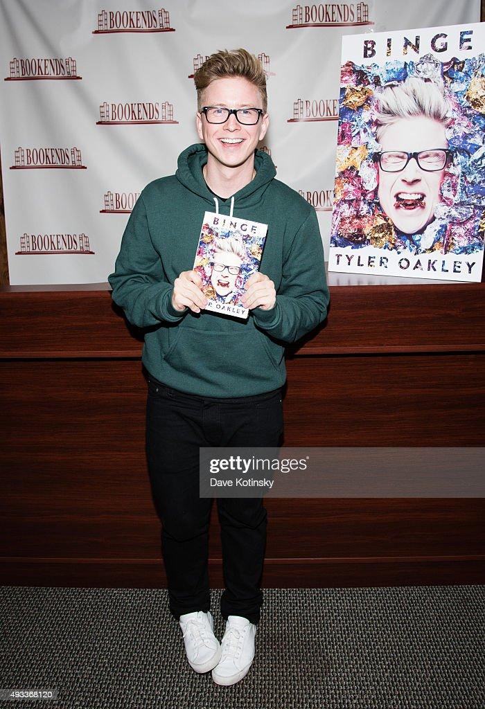 """Tyler Oakley Signs Copies Of His New Book """"Binge"""""""