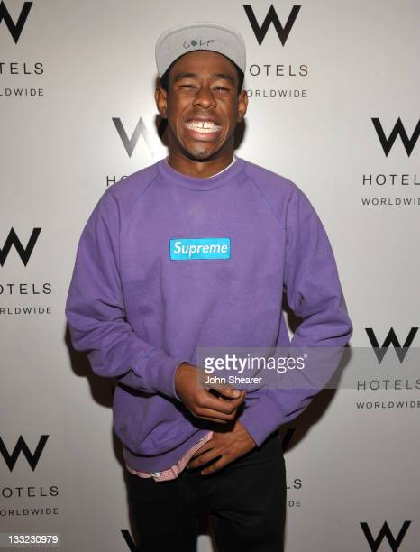 Tyler Okonma aka Tyler The Creator attends Symmetry Live and Chill launch at W Los Angeles Westwood on November 17 2011 in Los Angeles California