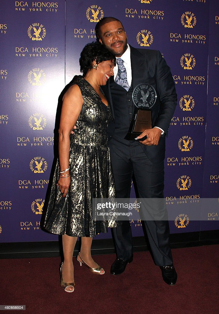 Tyler Perry and Phylicia Rashad attend the DGA Honors Gala 2015 on October 15, 2015 in New York City.