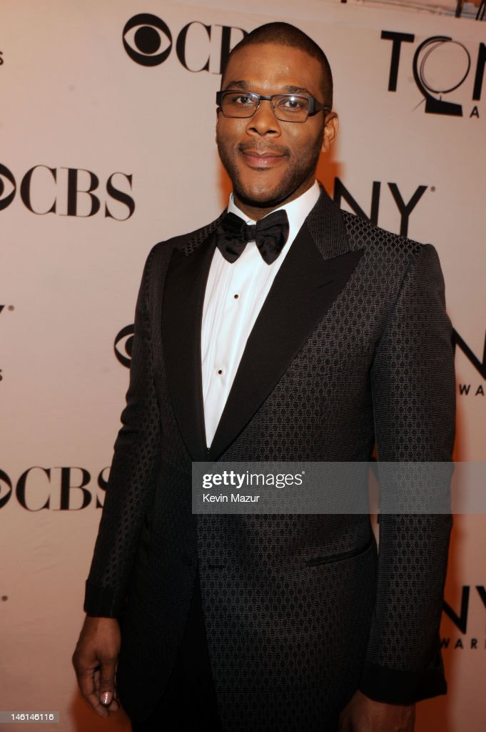 Tyler Perry attends the 66th Annual Tony Awards at The Beacon Theatre on June 10 2012 in New York City