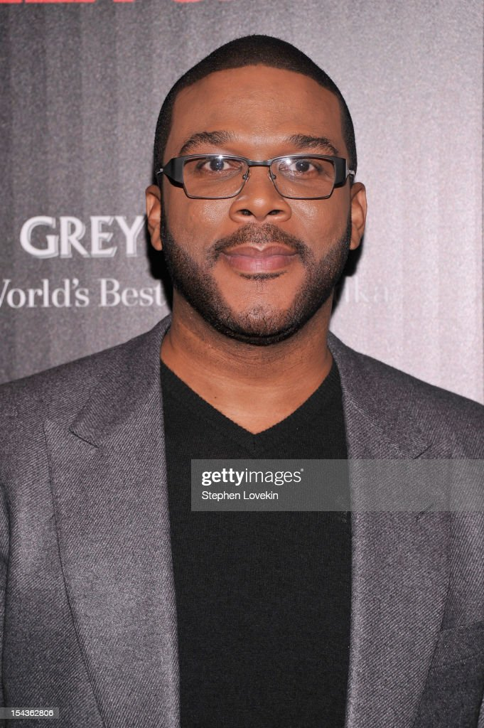 <a gi-track='captionPersonalityLinkClicked' href=/galleries/search?phrase=Tyler+Perry&family=editorial&specificpeople=678008 ng-click='$event.stopPropagation()'>Tyler Perry</a> attends The Cinema Society & Grey Goose Host A Screening Of 'Alex Cross' at Tribeca Grand Hotel on October 18, 2012 in New York City.