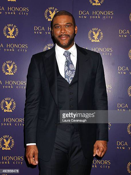 Tyler Perry attends the DGA Honors Gala 2015 on October 15 2015 in New York City