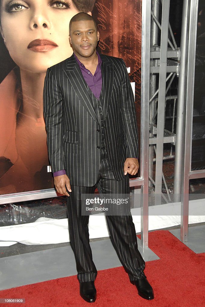 Tyler Perry attends the premiere of 'For Colored Girls' at Ziegfeld Theatre on October 25 2010 in New York City