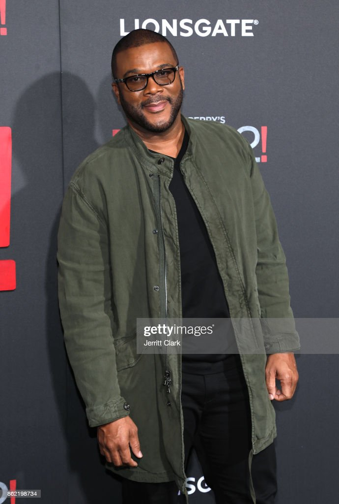Tyler Perry attends the premiere of Lionsgate's 'Tyler Perry's Boo 2! A Madea Halloween' at Regal LA Live Stadium 14 on October 16, 2017 in Los Angeles, California.