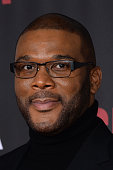 Tyler Perry attends the 'Selma' New York Premiere at Ziegfeld Theater on December 14 2014 in New York City