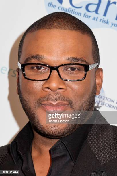 Tyler Perry attends the 'Shall We Dance' annual gala for the coalition for atrisk youth at The Beverly Hilton Hotel on May 11 2013 in Beverly Hills...