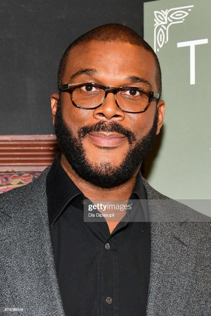 Tyler Perry launches his new book 'Higher Is Waiting' at the Gramercy Theatre on November 14, 2017 in New York City.
