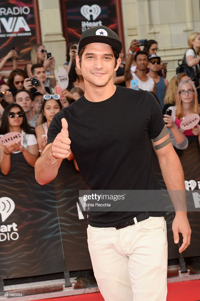 Tyler Posey arrives at the 2016 iHeartRADIO MuchMusic Video Awards at MuchMusic HQ on June 19, 2016 in Toronto, Canada.