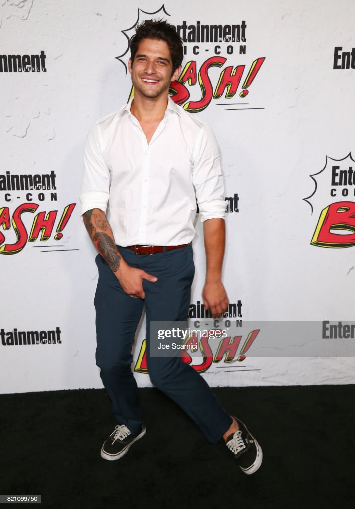 Tyler Posey at Entertainment Weekly's annual Comic-Con party in celebration of Comic-Con 2017 at Float at Hard Rock Hotel San Diego on July 22, 2017 in San Diego, California.