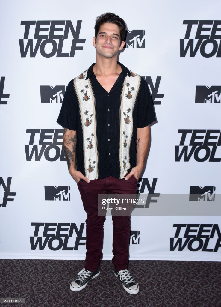 Tyler Posey at the MTV Teen Wolf 100th episode screening and series wrap party at DGA Theater on September 21, 2017 in Los Angeles, California.