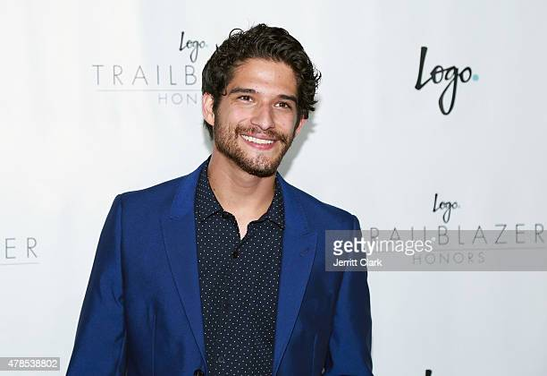 Tyler Posey attends Logo TV's 'Trailblazers' at the Cathedral of St John the Divine on June 25 2015 in New York City