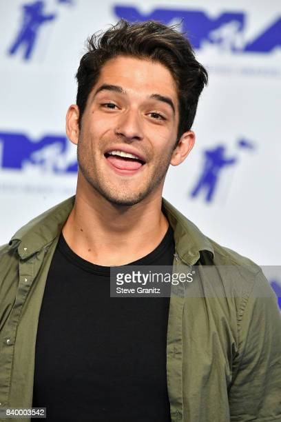Tyler Posey attends the 2017 MTV Video Music Awards at The Forum on August 27 2017 in Inglewood California
