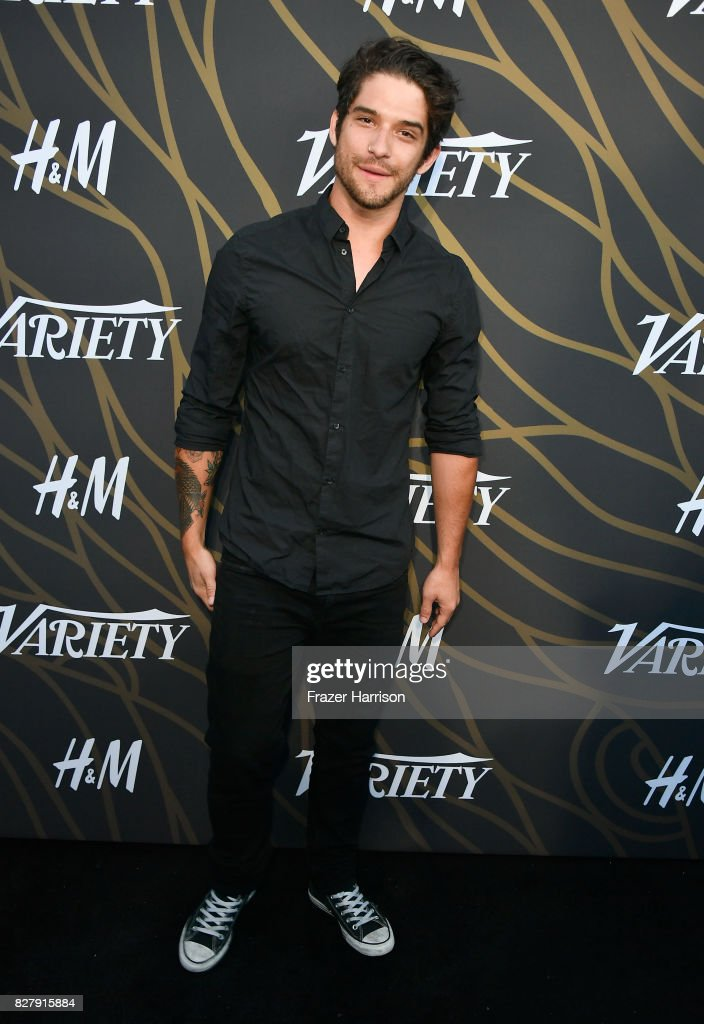 Tyler Posey attends Variety Power of Young Hollywood at TAO Hollywood on August 8, 2017 in Los Angeles, California.