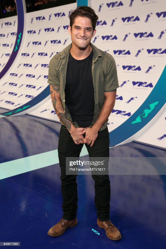 Tyler Posey during the 2017 MTV Video Music Awards at The Forum on August 27, 2017 in Inglewood, California.