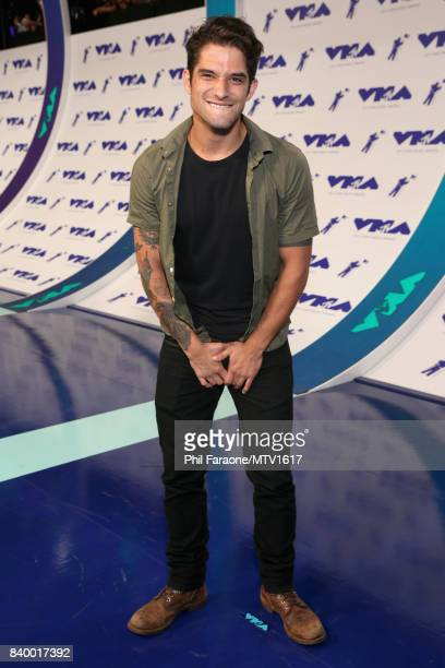 Tyler Posey during the 2017 MTV Video Music Awards at The Forum on August 27 2017 in Inglewood California
