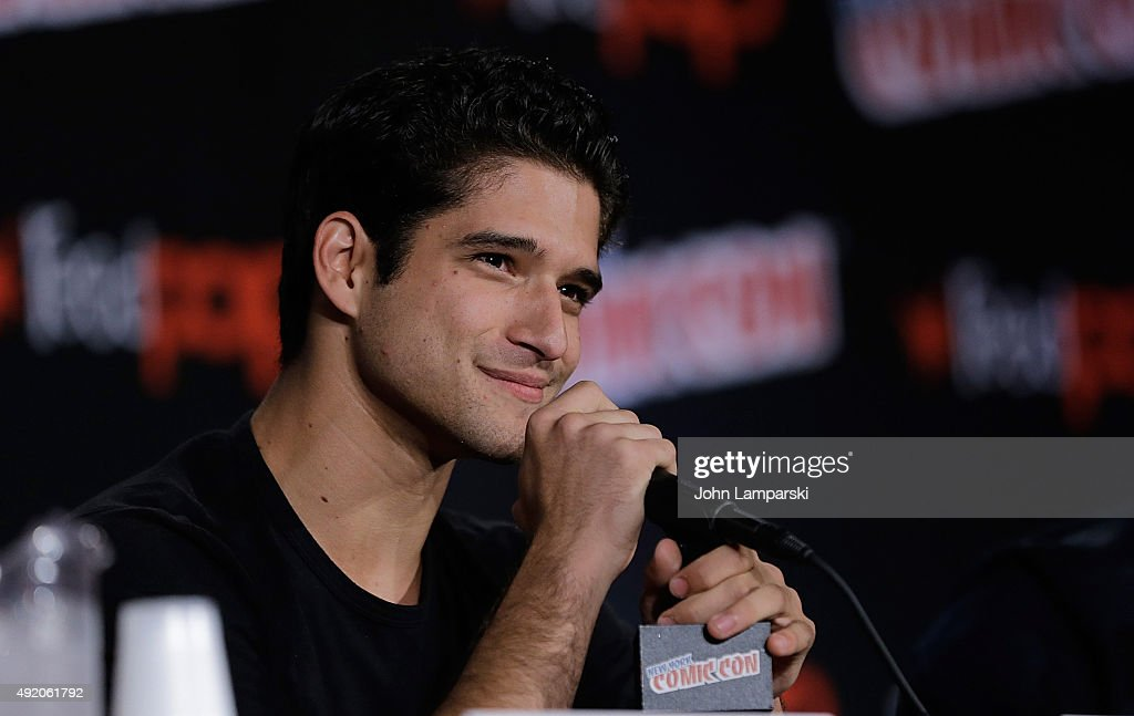 Tyler Posey from Teen Wolf New York ComicCon 2015 Day 2 at The Jacob K Javits Convention Center on October 9 2015 in New York City