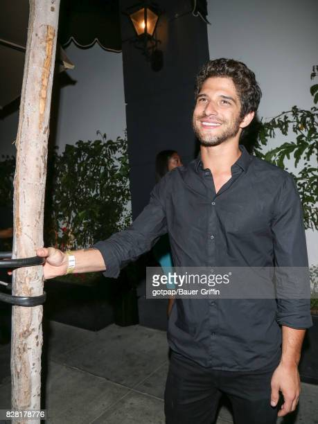 Tyler Posey is seen on August 08 2017 in Los Angeles California