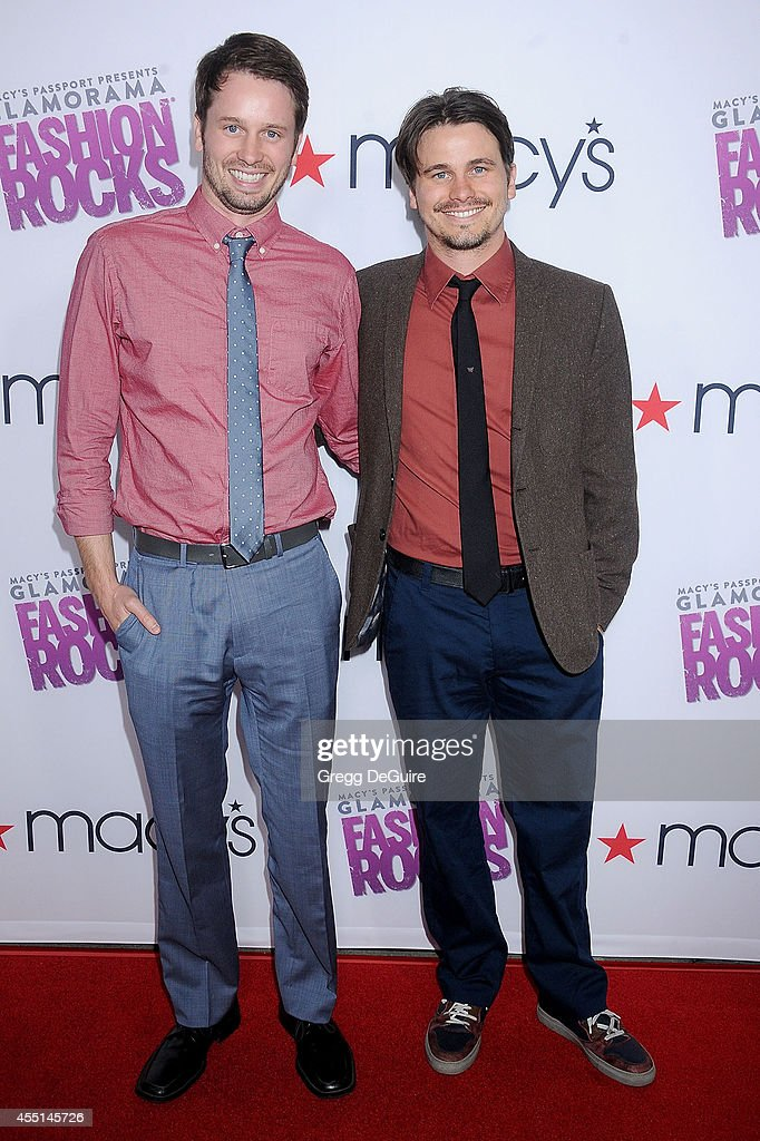 Tyler Ritter and Jason Ritter arrive at Macy's Passport Glamorama 'Fashion Rocks' at Create Nightclub on September 9, 2014 in Los Angeles, California.