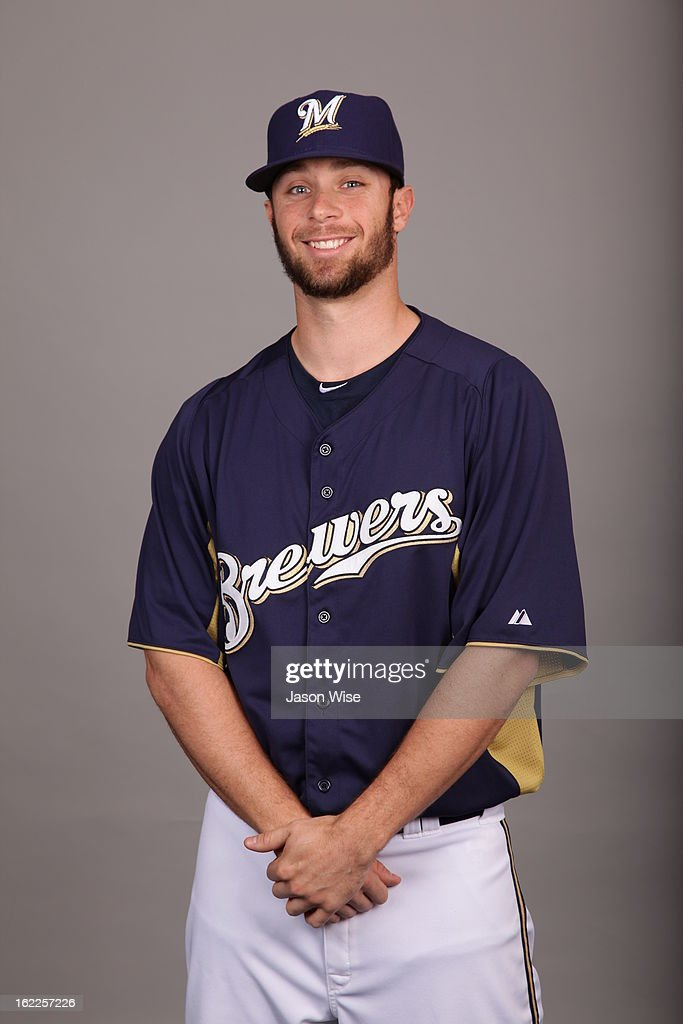 Tyler Thornburg #63 of the Milwaukee Brewers poses during Photo Day on February 17, 2013 at Maryvale Baseball Park in Phoenix, Arizona.