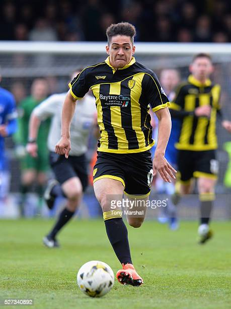 Tyler Walker of Burton Albion during the Sky Bet League One match between Burton Albion and Gillingham at Pirelli Stadium on April 30 2016 in...