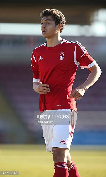 Tyler Walker of Nottingham Forest U21 in action during the U21 Professional Development League 2 North match between Coventry City U21 and Nottingham...