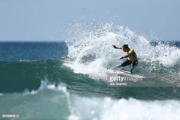 Tyler Wright of Australia in action during her final heat at the 2016 Swatch Women's Pro at Trestles at San Onofre State Beach on September 14 2016...