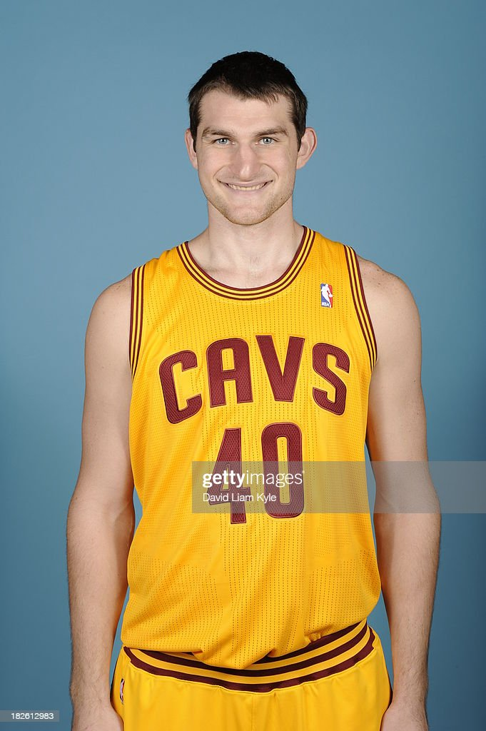 <a gi-track='captionPersonalityLinkClicked' href=/galleries/search?phrase=Tyler+Zeller&family=editorial&specificpeople=5122156 ng-click='$event.stopPropagation()'>Tyler Zeller</a> #40 of the Cleveland Cavaliers poses for a portrait at Media Day on September 30, 2013 in Independence, Ohio.