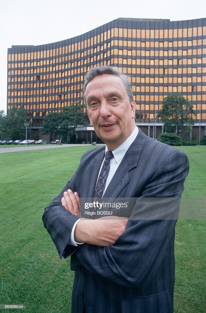 Tyll Necker President of West German Executives' Union BDI