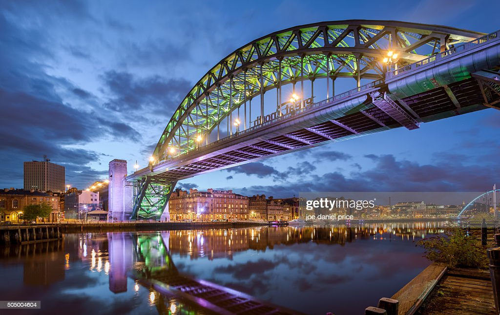 Tyne Bridge, Newcastle Upon Tyne, England