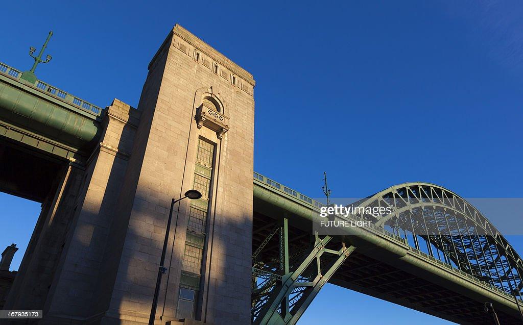 Tyne bridge spanning the River Tyne
