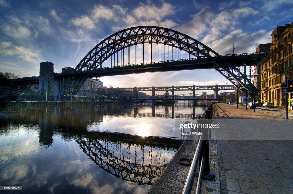 Tyne Bridge ultra wide view