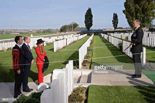 Prince William and Princess Astrid attend New Zealand commemorations of the 100th anniversary of the Battle of Passchendaele