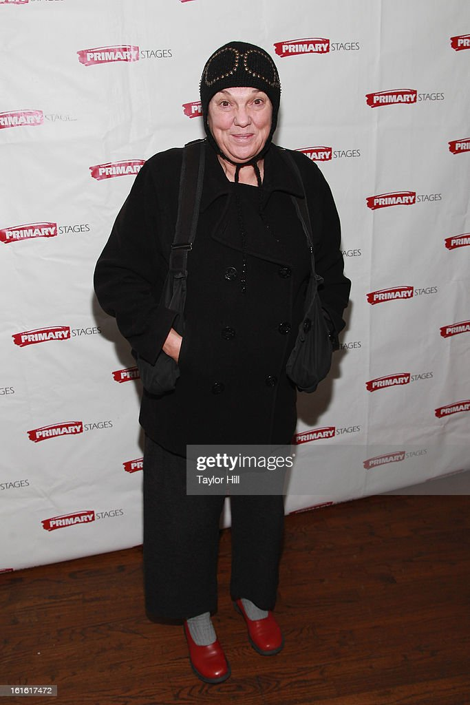 <a gi-track='captionPersonalityLinkClicked' href=/galleries/search?phrase=Tyne+Daly&family=editorial&specificpeople=207055 ng-click='$event.stopPropagation()'>Tyne Daly</a> attends the 'All In The Timing' 20th Anniversary Opening Night Reception at The Volstead on February 12, 2013 in New York City.