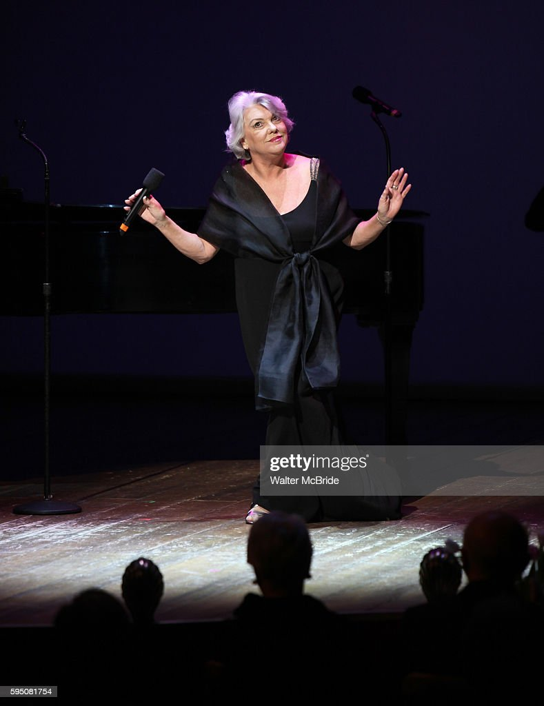 Tyne Daly performing in 'Angela Lansbury and Friends Salute Terrence McNally' A Benefit for the Acting Company in New York City