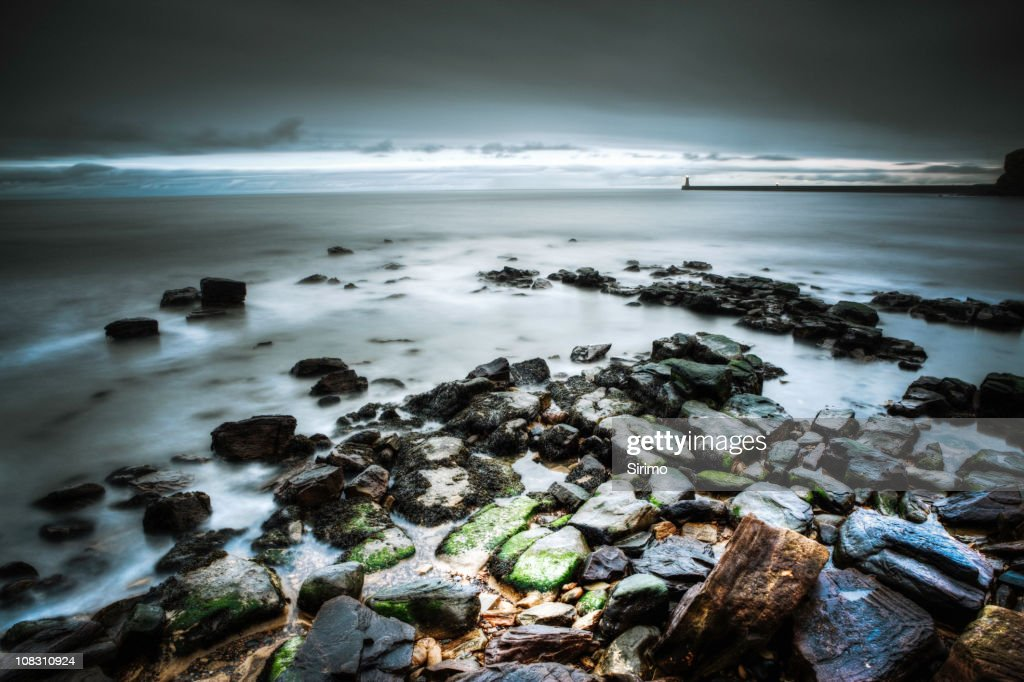 Tynemouth Seascape : Stock Photo