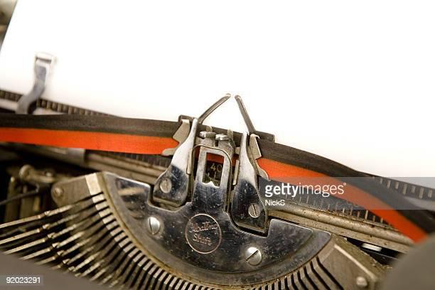 Typewriter - Blank Page